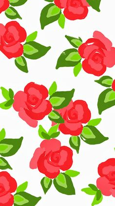 Red Roses ★ Find more Funky Patterns for your #iPhone + #Android @prettywallpaper