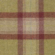 Skye Tartan from the Dales Collection by Moon Furnishings. A contemporary tartan in lime green, raspberry and light beige in Wool. Suitable for contract and upholstery and curtains. Tartan Fabric, Light Beige, Raspberry, Upholstery, Burgundy, Lime, Wool, Contemporary, Wallpaper