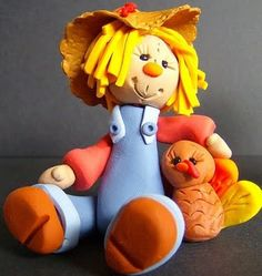 Scarecrow Clay Figure (2009 by vanessa)