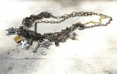Industrial Glam #Necklace by @Nina Owens #MichaelsStores