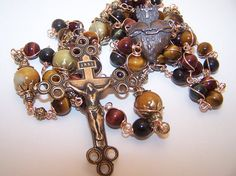 Rosary Of The Sacred Heart- Solid Bronze