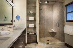 Contemporary Bathroom Design Ideas, Pictures, Remodel and Decor Compact Bathroom, Beige Bathroom, Small Bathroom, Master Bathroom, Modern Bathroom, Bathroom Ideas, Condo Bathroom, Minimalist Bathroom, Basement Bathroom