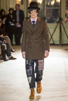 Junya Watanabe Fall 2014 Menswear - Collection - Gallery - Style.com