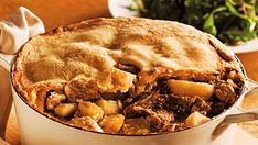Cipaille - A layered meat pie, traditional to French Canadian culture. Also known as six-pates or sea-pie! Canadian Dishes, Canadian Food, Canadian Recipes, Canadian Culture, Cooking Recipes, Healthy Recipes, Pie Recipes, Holiday Dinner, Meatball Recipes