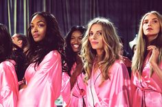 Almost show time! #VSFashionShow #GetExcited