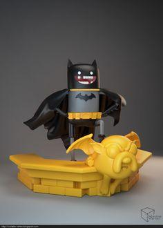 Volatile Vertex - Adventure Time Batman