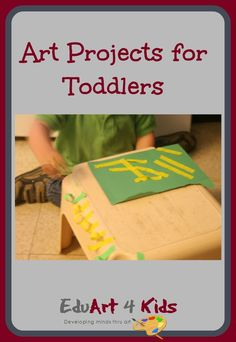 Process only art is the only kind of art that toddlers are truly capable of. Check out the activities that you can do with toddlers. crafts for toddlers, toddler crafts Winter Crafts For Toddlers, Art Activities For Toddlers, Painting Activities, Easy Crafts For Kids, Art For Kids, Summer Art Projects, Toddler Art Projects, Toddler Crafts, Acrylic Painting For Kids