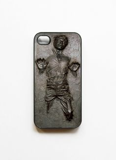 iPhone 4 Case Star Wars Frozen Han Solo Frozen in Carbonite.almost enough to make my husband buy an iphone 4 :) Iphone 5 Case, Zoom Iphone, Phone Cases, Iphone Phone, Cover Iphone, Iphone Decal, Coque Vintage, Han Solo Frozen, Frozen Hans