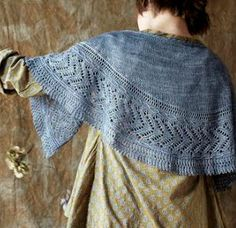 Josephine pattern by Paulina Popiolek for Loop, London. Knit in one skein of Squoosh yarn.