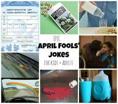 YES! 25+ April Fools' Jokes to Play on Kids and Adults