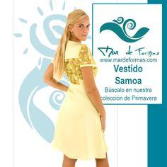 El Vestido Samoa Búscalo en nuestra colección de Primavera: http://www.mardeformas.com/es/41-vestido-samoa.html