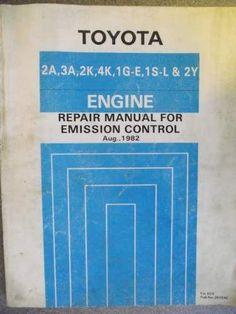 14 99 toyota 1y 1yc 2y 2yc 3y 3yc engine repair workshop manual 83 rh pinterest com Toyota NASCAR Engine Specs Toyota NASCAR Engine Specs
