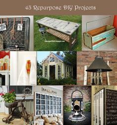 43 Repurposed DIY Projects..