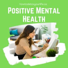 Positive mental health - natural remedies and natural methods for dealing with mental health challenges. Positive Mental Health, Health Challenge, Natural Solutions, Health Problems, Feel Better, Helping People, Natural Health, Natural Remedies, Detox