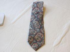 Christian Dior Monsieur grey pink menswear neck tie Silk necktie Men's GUC #ChristianDior #tie