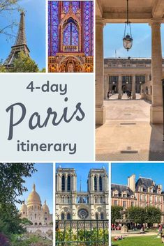 4-day Paris itinerary: see the best of Paris in 4 days Paris France Travel, France City, Paris Travel Guide, 4 Days In Paris, Paris Paris, Spain Travel, Travel Europe, Paris Itinerary, Travel Route