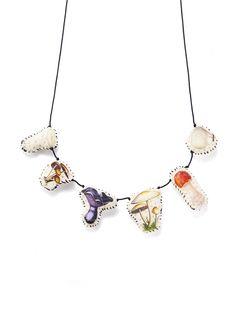 Lyndie Dourthe - Mushroom necklace