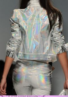 HOLOGRAPHIC, future fashion