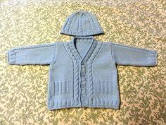 free baby sweater set patterns.