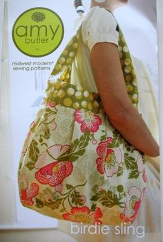 Birdie Sling Pattern by Amy Butler, FREE SHIPPING with any other purchase via Etsy
