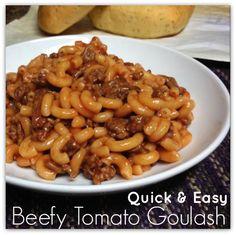 Quick and Easy Goulash Recipe!