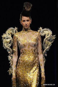 asian couture designers   Designer Guo Pei's creations hit Asian Fashion Week - Xinhua   English ...