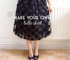 Randomly Happy: Make Your Own   tulle skirt