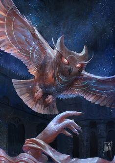 Night Owl, Alvaro Estrada on ArtStation at https://www.artstation.com/artwork/night-owl-f472e1a7-b983-46ee-b524-d789a0b59c8a