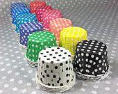Polka Dot Candy Cups!