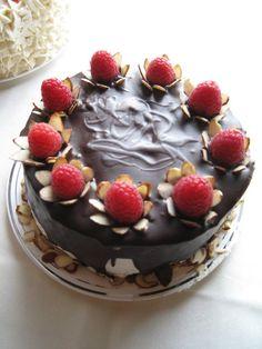 Vegan Raspberry Chocolate Ganache Mini Cake