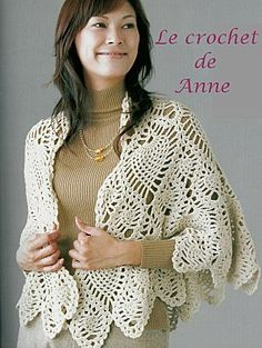 In French but diagram is provided  ananas et sa grille gratuite , au crochet ! - Le blog de Anne