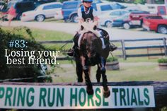 The worst. ProblemYou can find Equestrian problems and more on our website.The worst. Equestrian Quotes, Equestrian Problems, Equestrian Outfits, Equestrian Style, Horse Girl Problems, Losing Your Best Friend, All About Horses, Horse Quotes, Horseback Riding