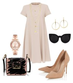 """Simple"" by natalia-souza-ramos on Polyvore featuring 'S MaxMara, Lanvin, Lipsy, Lana and Michael Kors"