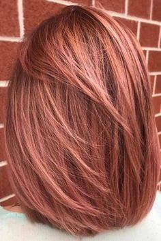 Rose Gold Hair Balayage picture1