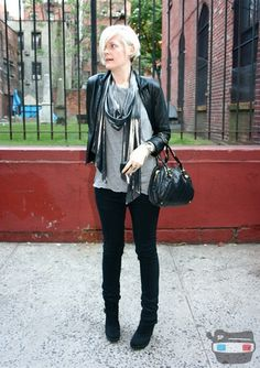 Black jeans and boots