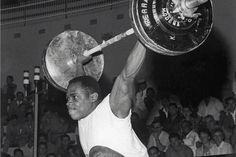 16.1.15. Louis Martin. Olympic weightlifter