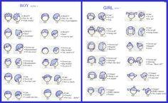 Animal Crossing Hair Styles by ~SpeedLimit-Infinity on deviantART