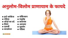 अनुलोम-विलोम प्राणायाम के फायदे - All Ayurvedic Good Health Tips, Natural Health Tips, Health And Fitness Tips, Health And Beauty Tips, Meditation In Hindi, Yoga In Hindi, Yoga Meditation, Yoga Asanas Names, Patanjali Yoga