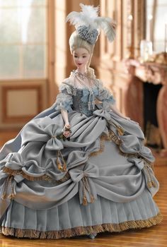 Marie Antoinette - historical Barbie - freakishly cool.