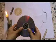 How to Make a Clock from a CD!