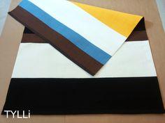 Tilausraitoja; ruskeaa, mustaa, valkoista, keltaista ja sinistä!