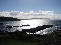 Ireland, Donegal, Atlantic Drive