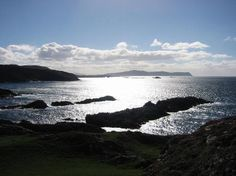 Ireland, Donegal, Atlantic Drive