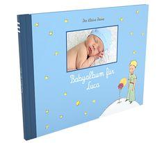 Babyalbum 'Der Kleine Prinz'.  www.Geschenkeschatz.de