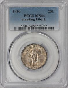 1916-25C-Standing-Liberty-Quarter-PCGS-MS64