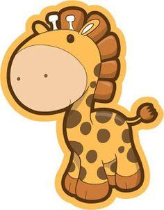 dibujos de jirafas para imprimir