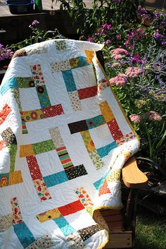 """""""Tea Party"""" quilt patterns by Sweet Jane, Frolic fabric by Sandy Gervais 