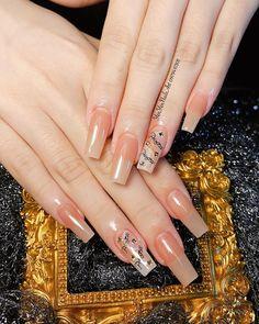 Coffin Nails, Gel Nails, Manicure, Nail Polish, Nail Nail, Gel Designs, Colorful Nail Designs, Nail Art Designs, Cute Acrylic Nails