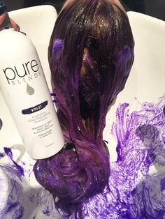 Beautiful Tone Created Using Pure Blends Sun And Chestnut Conditioners Color Depositing Shampooconditionerkeratincolored Hairhair