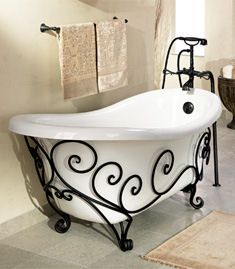 st thomas creations new orleans tub Orleans Wrought Iron Tub from St. Thomas…